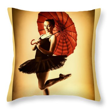 Audrey Would 2 Throw Pillow