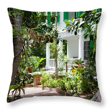 Audubon House Entranceway Throw Pillow