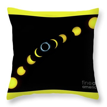 Throw Pillow featuring the photograph August 2017 by Wanda Krack
