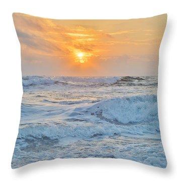 August 28 Sunrise Throw Pillow