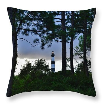 August 9 Bodie Lt House Throw Pillow