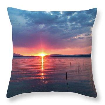 August Eye Throw Pillow