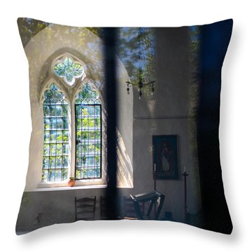 Augustinian Reflection Throw Pillow