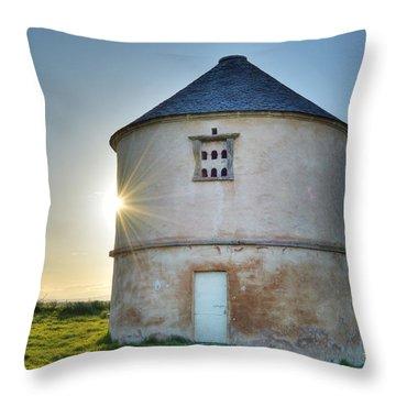 Auldearn Doocot Throw Pillow