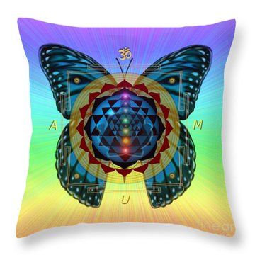 AUM Throw Pillow