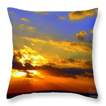 Aurelian Throw Pillow by Priscilla Richardson