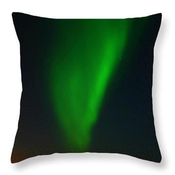 Aurora Borealis  Throw Pillow by Anthony Jones