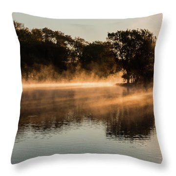Aurora - Goddess Of The Dawn Throw Pillow
