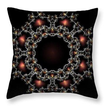 Aurora Graphics 025 Throw Pillow