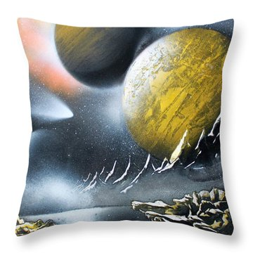 Aurora Throw Pillow