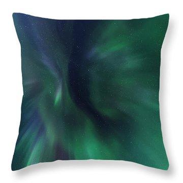 Aurora Kaleidoscope Throw Pillow