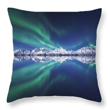Aurora Square Throw Pillow