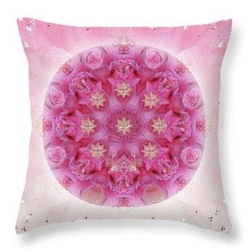 Auspicious Adoration Throw Pillow