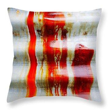Aussie Galvanised Iron #29 Throw Pillow