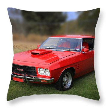 Throw Pillow featuring the photograph Aussie Muscle by Keith Hawley