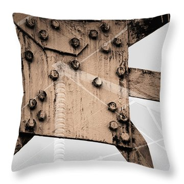 Austerity Of Form Throw Pillow