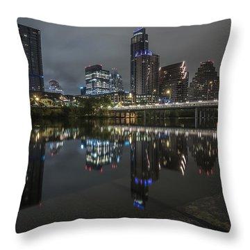 Austin As Gotham Throw Pillow