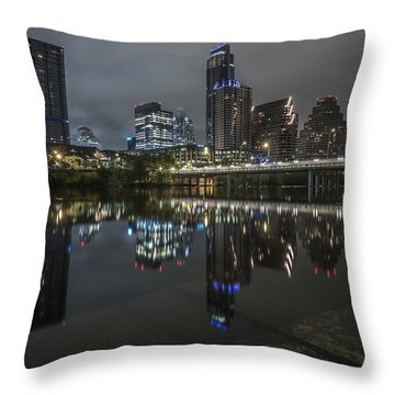 Austin As Gotham Throw Pillow
