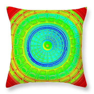 Austin Dome - C Throw Pillow
