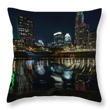 Austin Reflections Throw Pillow