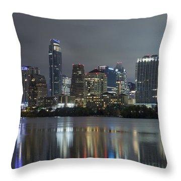 Austin Reflections Throw Pillow