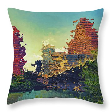 Austin Was Not What We Expected Throw Pillow