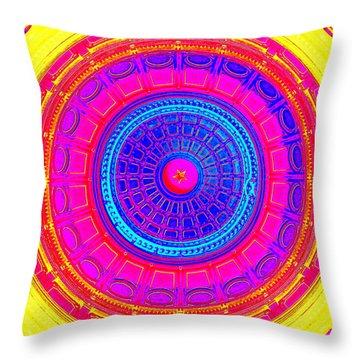 Austin Capitol Dome - 1 Throw Pillow