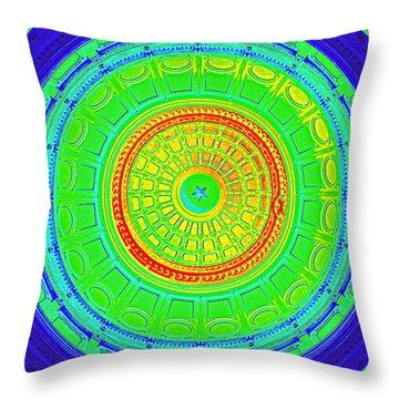 Austin Capitol Dome - 3 Throw Pillow