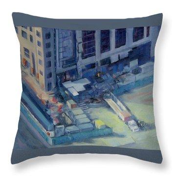 Austonian In Progress Throw Pillow by Connie Schaertl