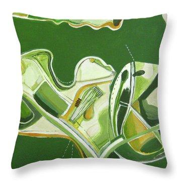 Australia Industrial Throw Pillow by Toni Silber-Delerive