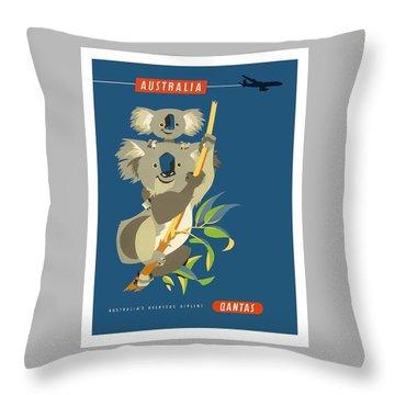 Koala Throw Pillows