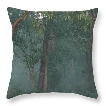 Australian Morning Throw Pillow