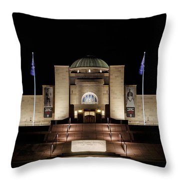 Australian War Memorial Throw Pillow