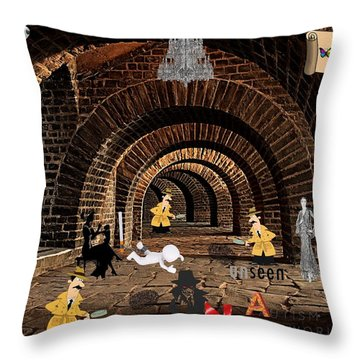 Autism Netherworlds Throw Pillow