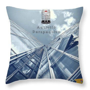 Autistic Perspective Throw Pillow