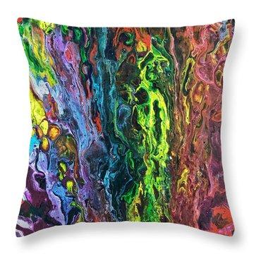 Auto Body Paint Technician  Throw Pillow