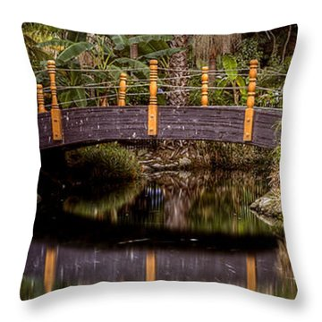 Auto Bridge Throw Pillow