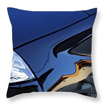 Auto Headlight 192 Throw Pillow by Sarah Loft