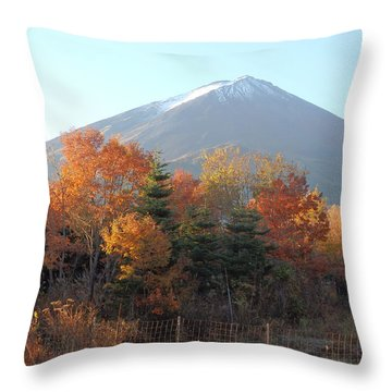 The Forest Of Creation Throw Pillow