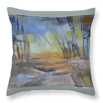 Autum Light Throw Pillow