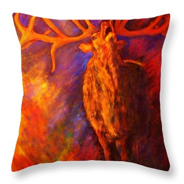 Autum-serenade Throw Pillow