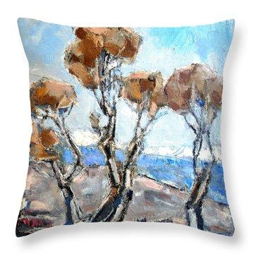 Autumn 12 Throw Pillow