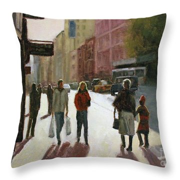 Autumn Afternoon Throw Pillow