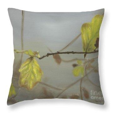 Autumn Throw Pillow by Annemeet Hasidi- van der Leij