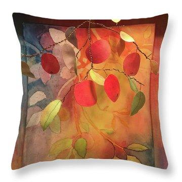 Autumn Apples 3d Throw Pillow