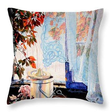 Autumn Aromas Throw Pillow by Hanne Lore Koehler