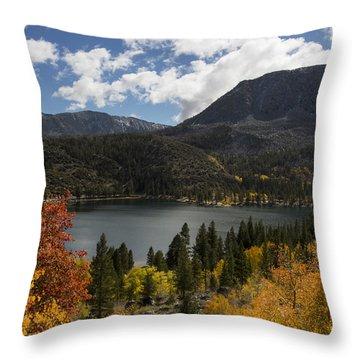 Autumn At Rock Creek Lake 2 Throw Pillow