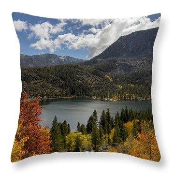 Autumn At Rock Creek Lake Throw Pillow