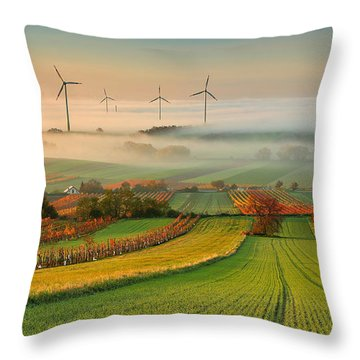 Wind Throw Pillows