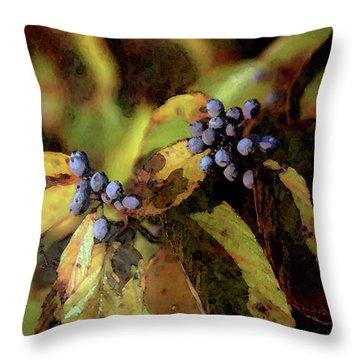 Autumn Berries 6047 Dp_2 Throw Pillow